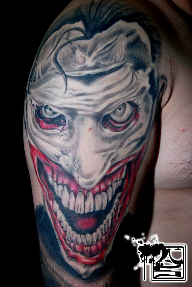 409b724db Colorful Half Sleeve Tattoo - Balinese Tattoo Miami