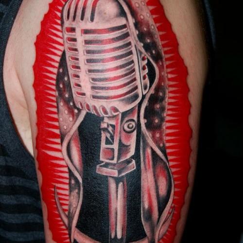 Artistic Color Tattoo